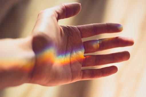 arcoiris creaciendo